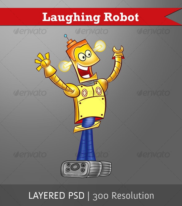 Laughing Robot - Miscellaneous Characters