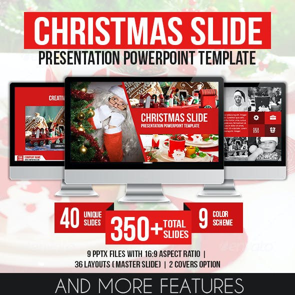 Christmas Slide Presentation PowerPoint Template