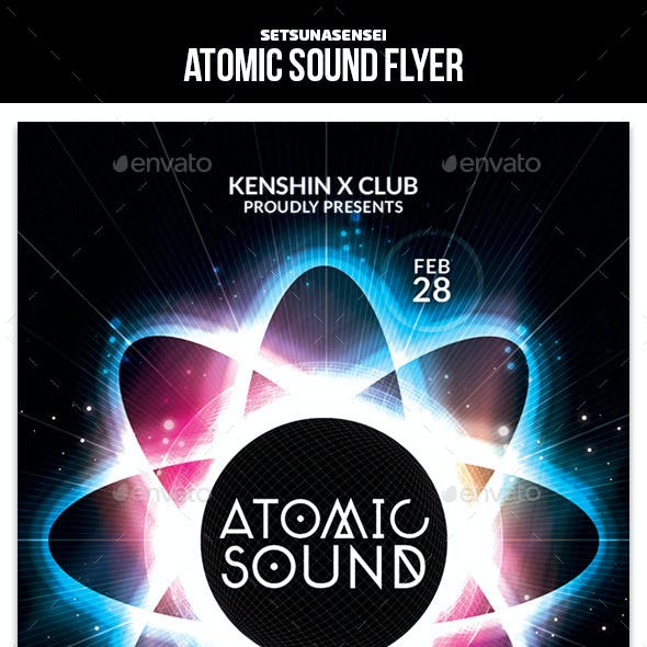Atomic Sound Flyer