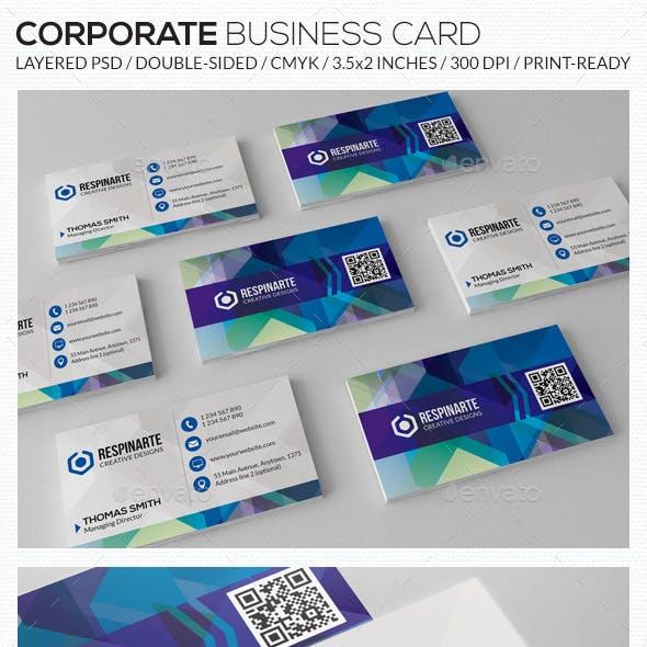 Corporate Business Card - RA70