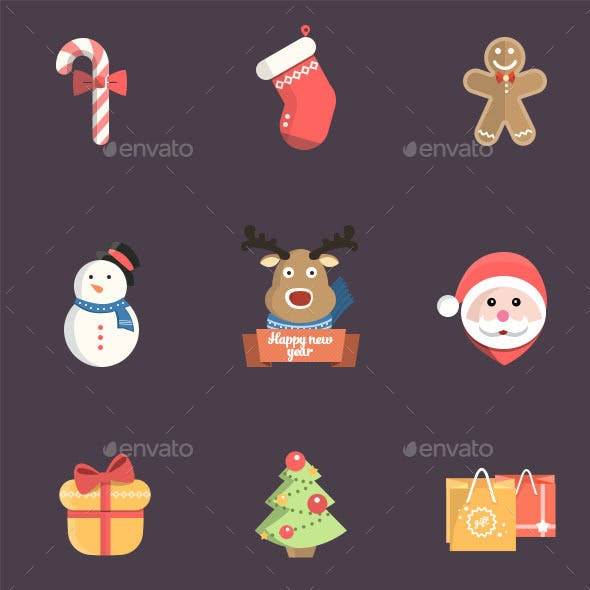 Christmas Icon Pack Psd