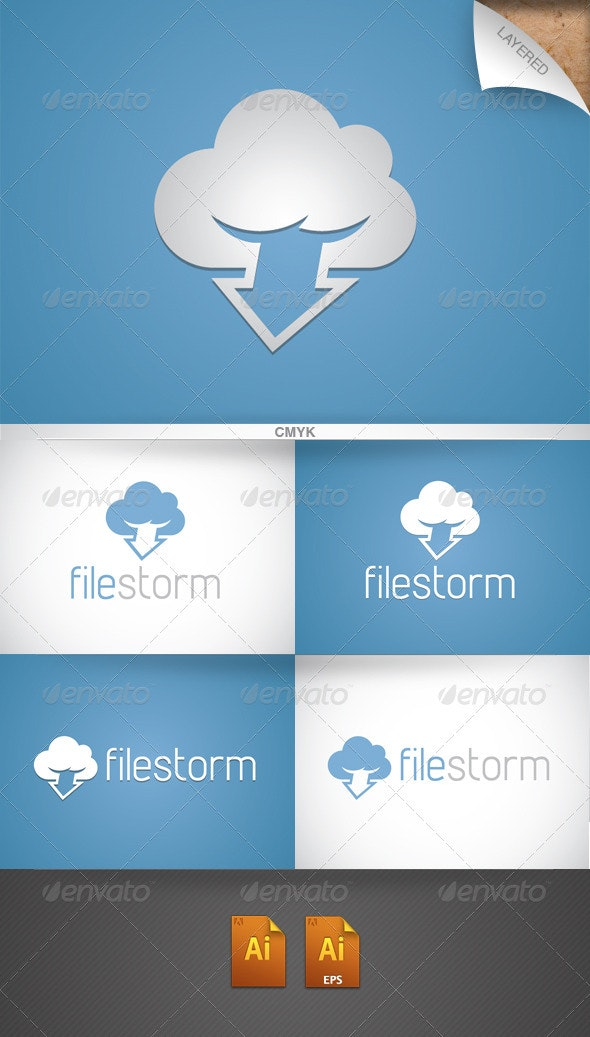 Filestorm Logo - Symbols Logo Templates