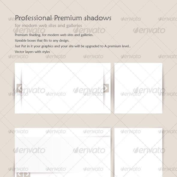 Professional Premium shadows