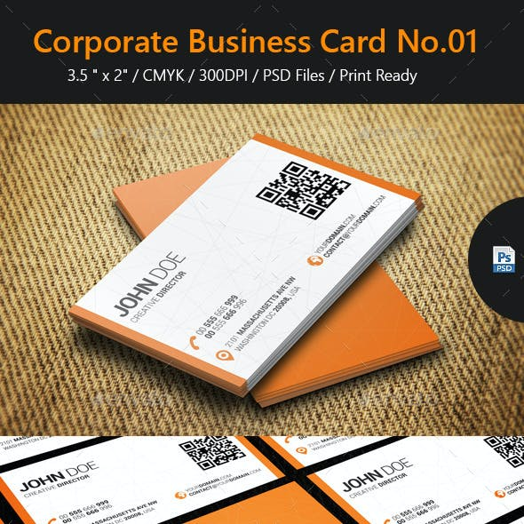 Corporate Business Card No.01