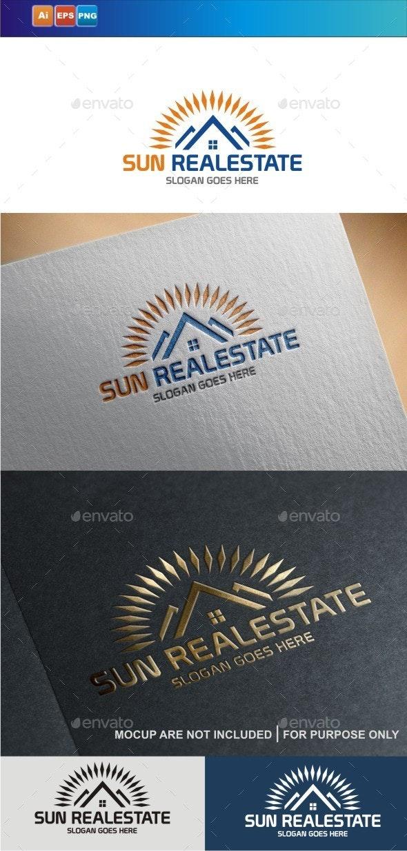 Sun Realestate - Buildings Logo Templates
