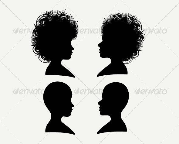 Lady - Characters Vectors