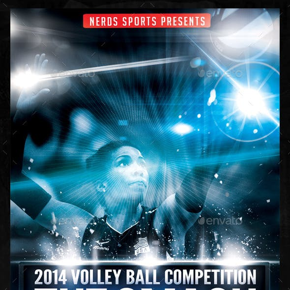 The Smash Volleyball Sports Flyer