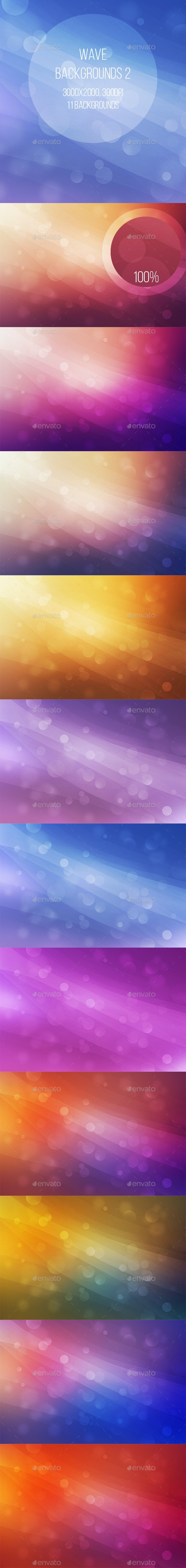 Abstract Wave Backgrounds 2 - Abstract Backgrounds