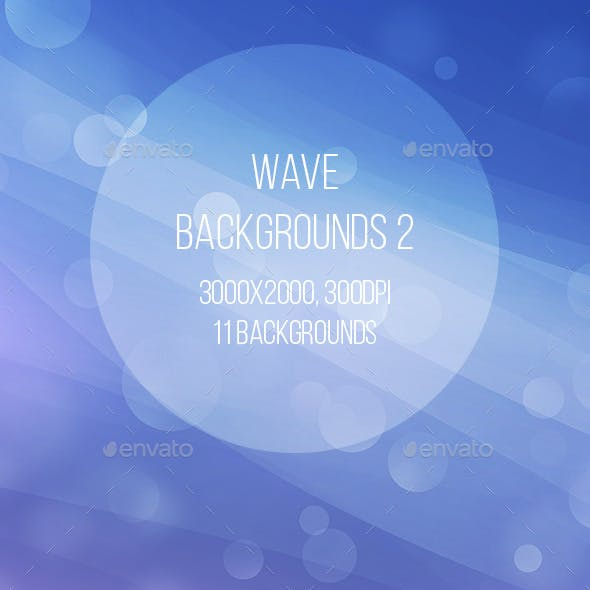 Abstract Wave Backgrounds 2