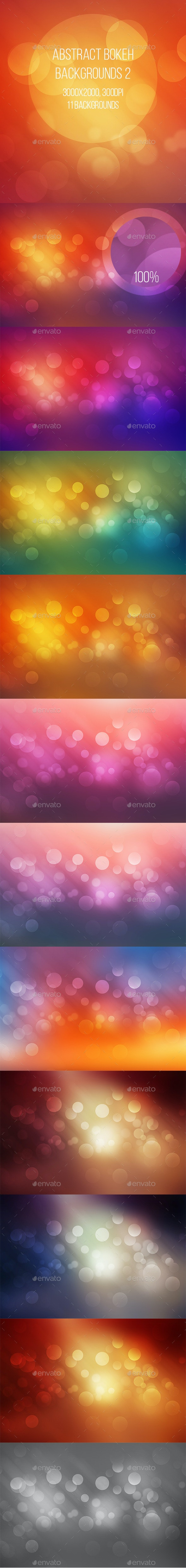 Abstract Bokeh Backgrounds 2
