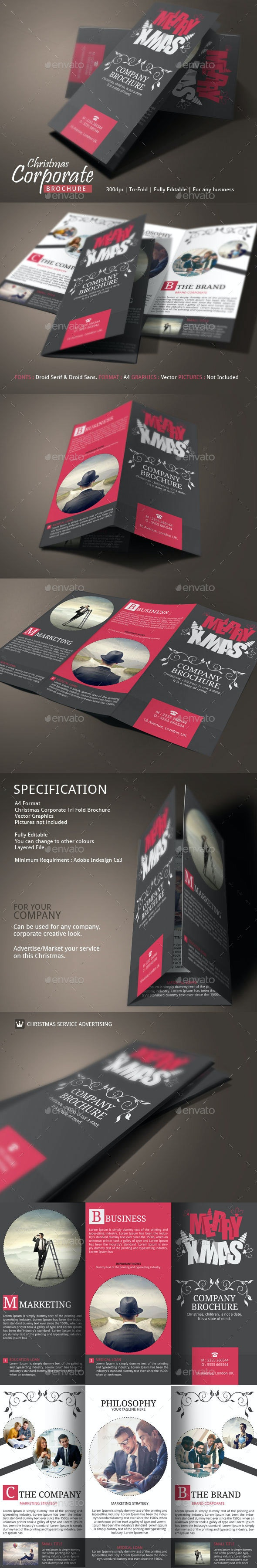 Christmas Brochure Examples - Corporate Brochures