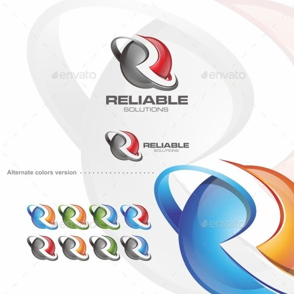 Reliable / R Letter - Logo Template