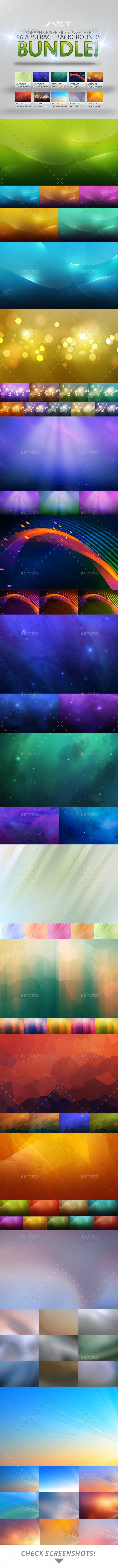 86 Abstract Backgrounds Bundle - Abstract Backgrounds
