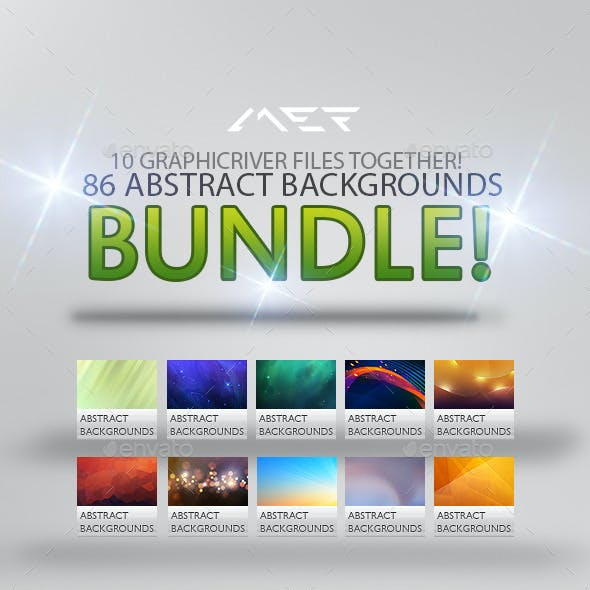 86 Abstract Backgrounds Bundle