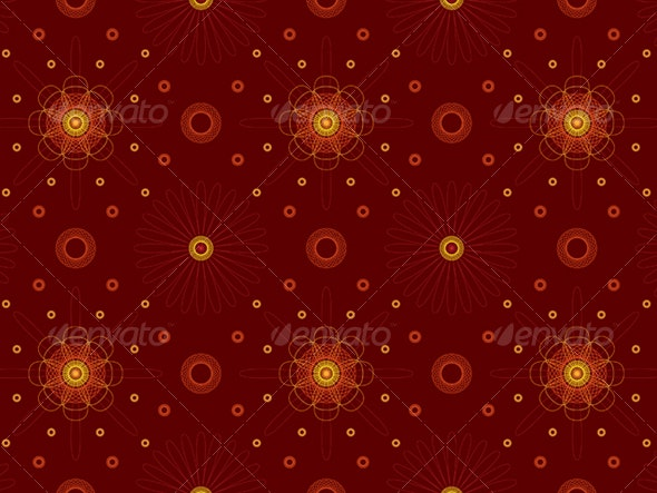 Abstract Pattern - Characters Vectors