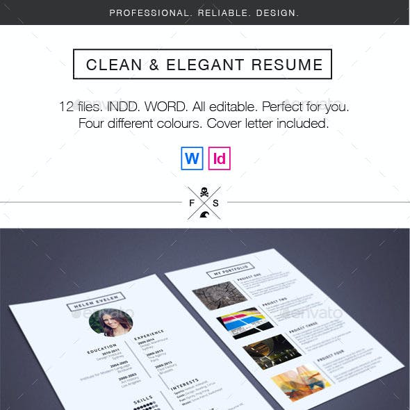 Resume - Clean and Elegent