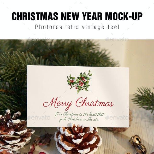 Christmas Card Mockup v2