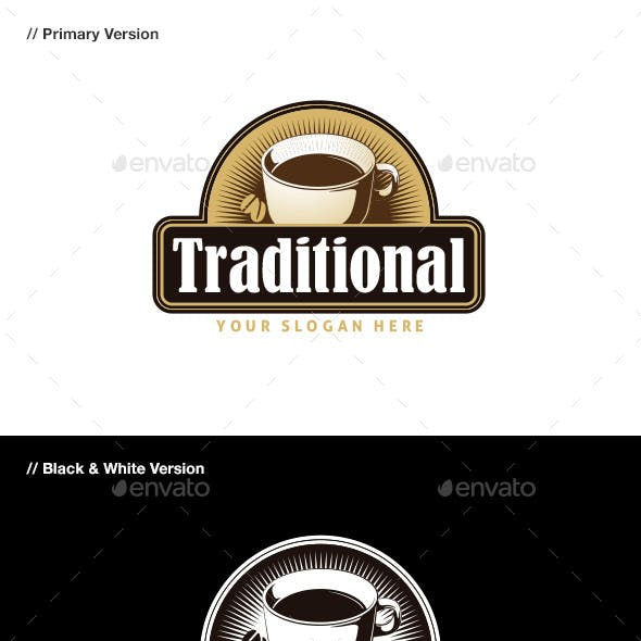 Traditional Coffee Logo