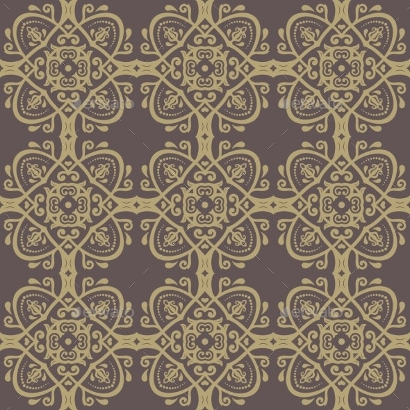 Orient Seamless Abstract Pattern - Patterns Decorative