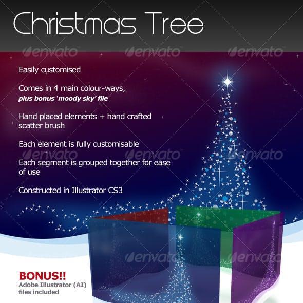 Christmas Tree Landscape