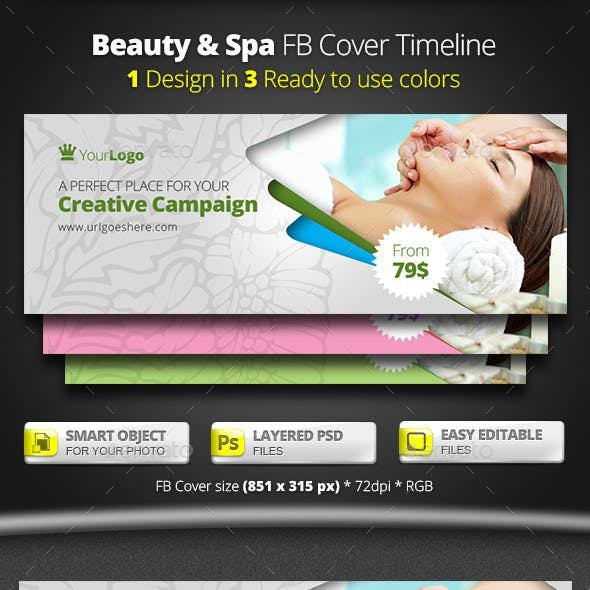 Beauty & Spa FB Cover Timeline
