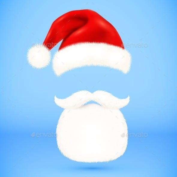 Santa's Hat and Beard