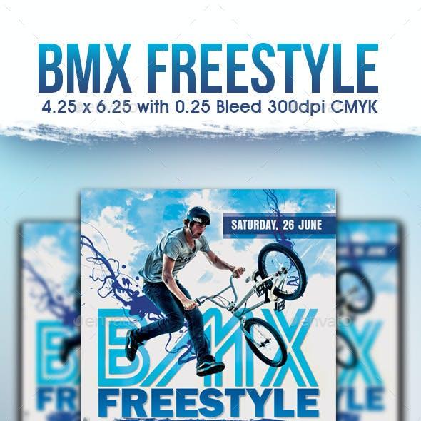 BMX Freestyle Flyer