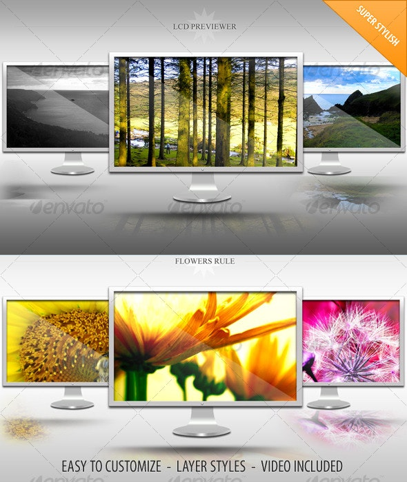 LCD Web 2.0 Content Preview Kit - Miscellaneous Graphics