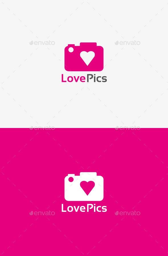 Love Camera Logo - Symbols Logo Templates