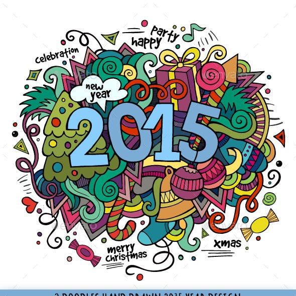 2015 Year Doodles Designs