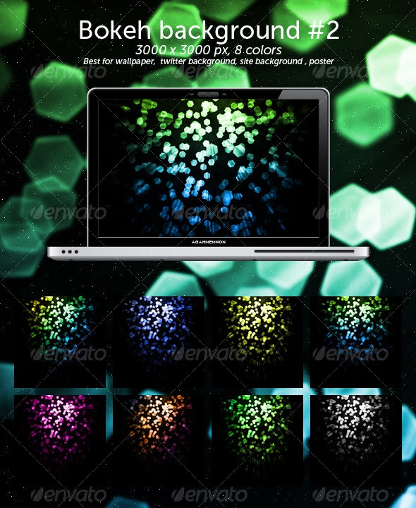 Bokeh Background #2 - Abstract Backgrounds