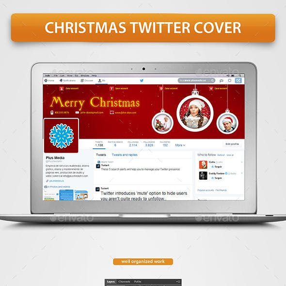 Christmas Twitter Cover