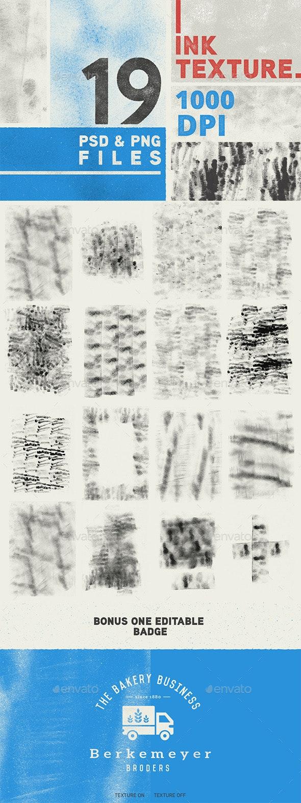 19 Ink Texture