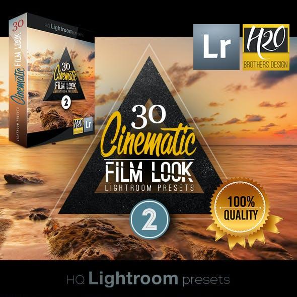 30 Cinematic Film Look Lightroom Presets VOL.2