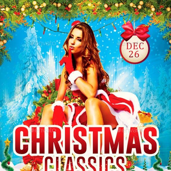 Flyer Christmas Classics