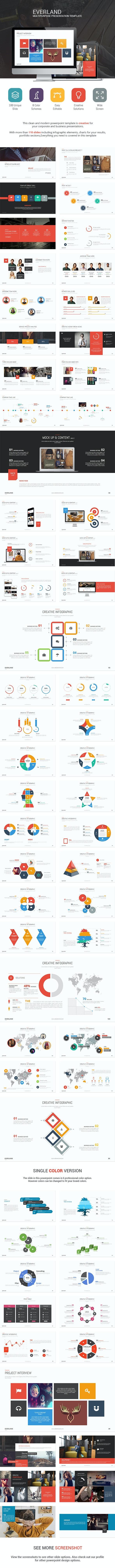 Everland - Multipurpose Template - Creative PowerPoint Templates