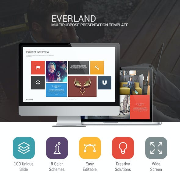 Everland - Multipurpose Template