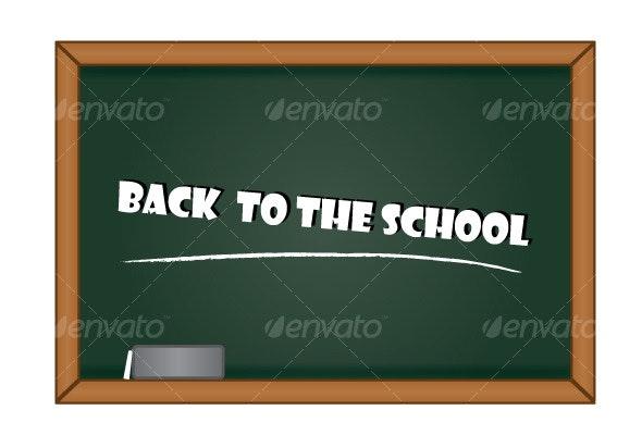 Blackboard Graphic - Miscellaneous Vectors