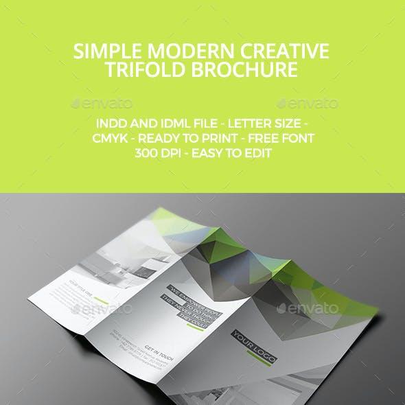 Modern Trifold Brochure