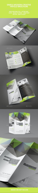 Modern Trifold Brochure - Brochures Print Templates