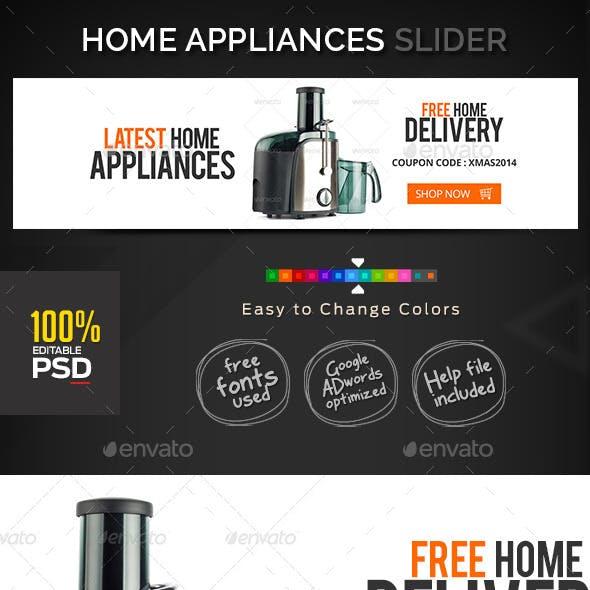 E-Commerce Slider