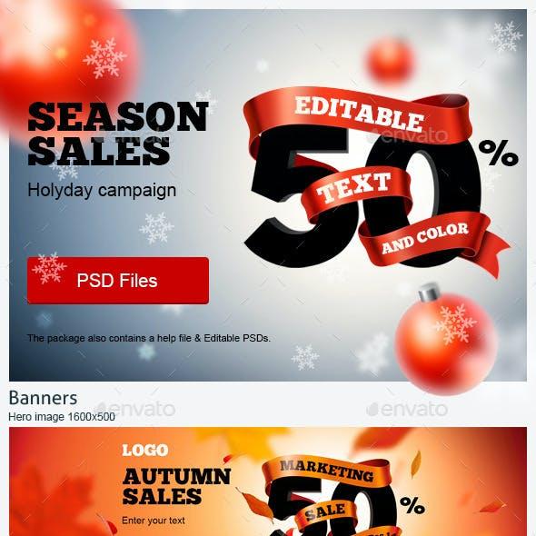 Season Sales Ads Kit