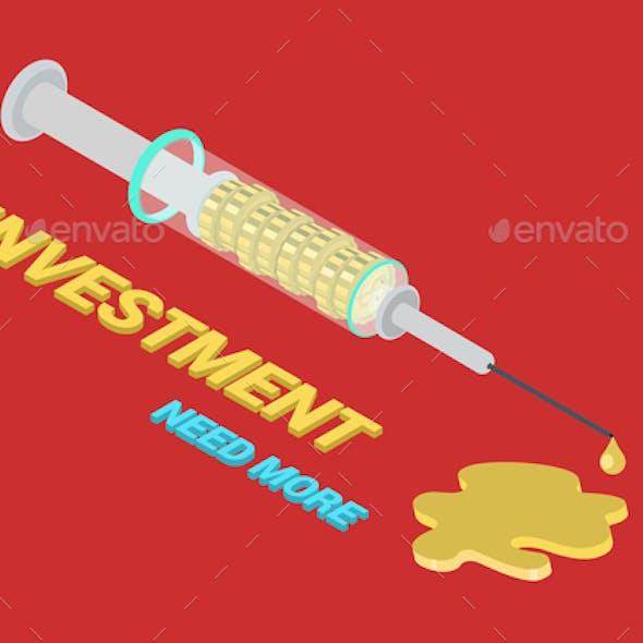 Funding Addiction Syringe