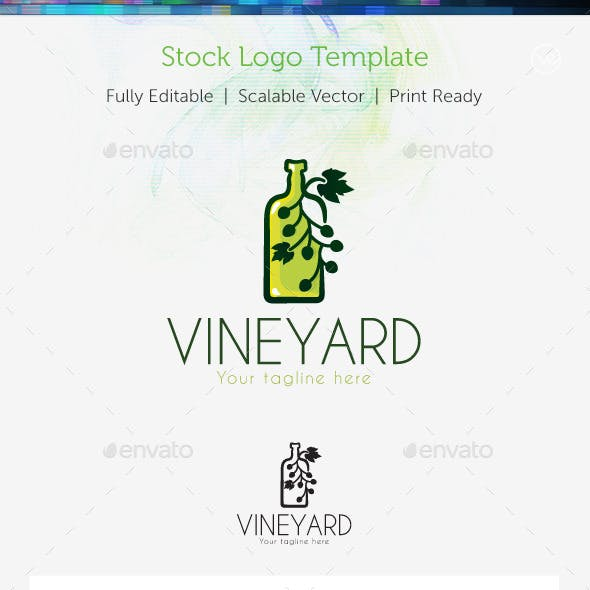 VineYard  Stock Logo Template