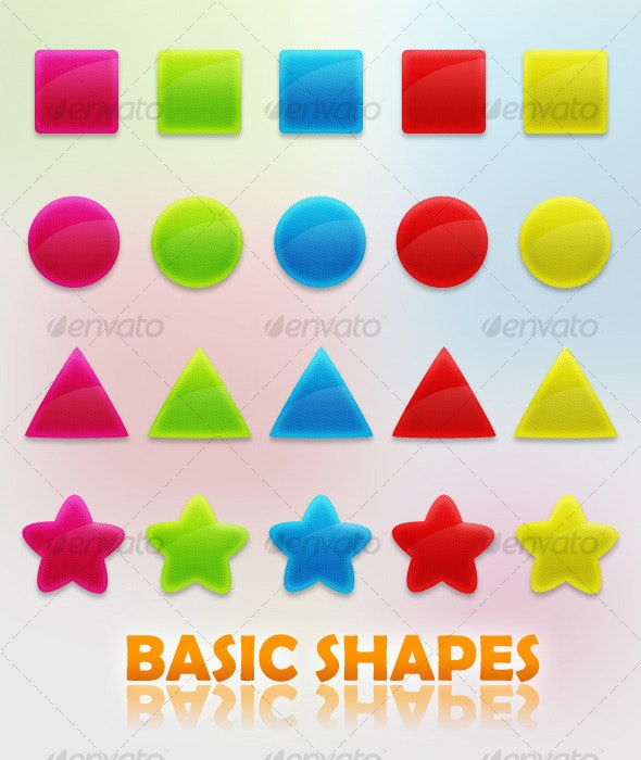 Basic Shapes - Web Elements
