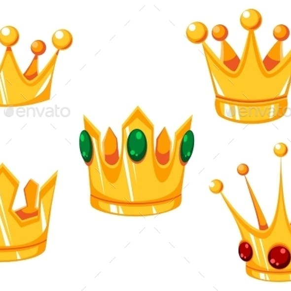 Cartoon Crowns