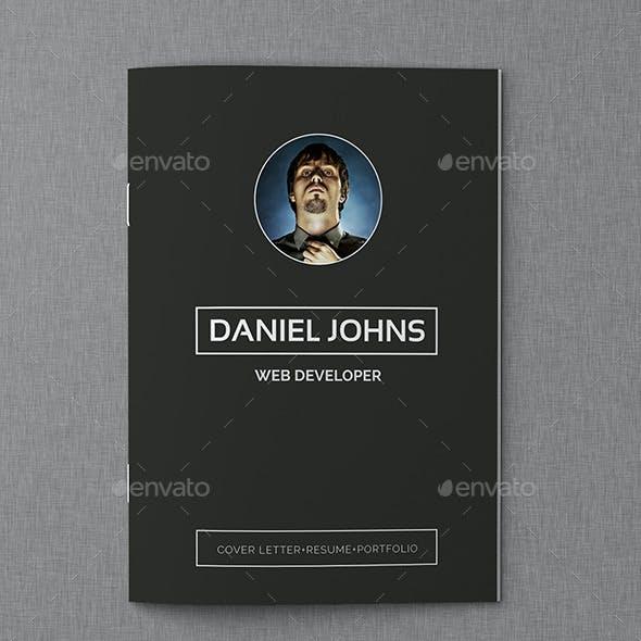 CV Resume Portfolio Vol2