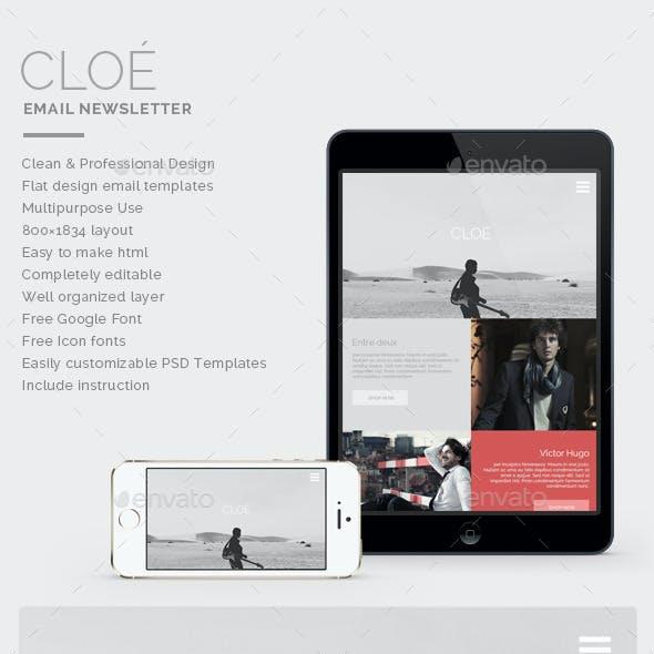 Email Newsletter - Cloe