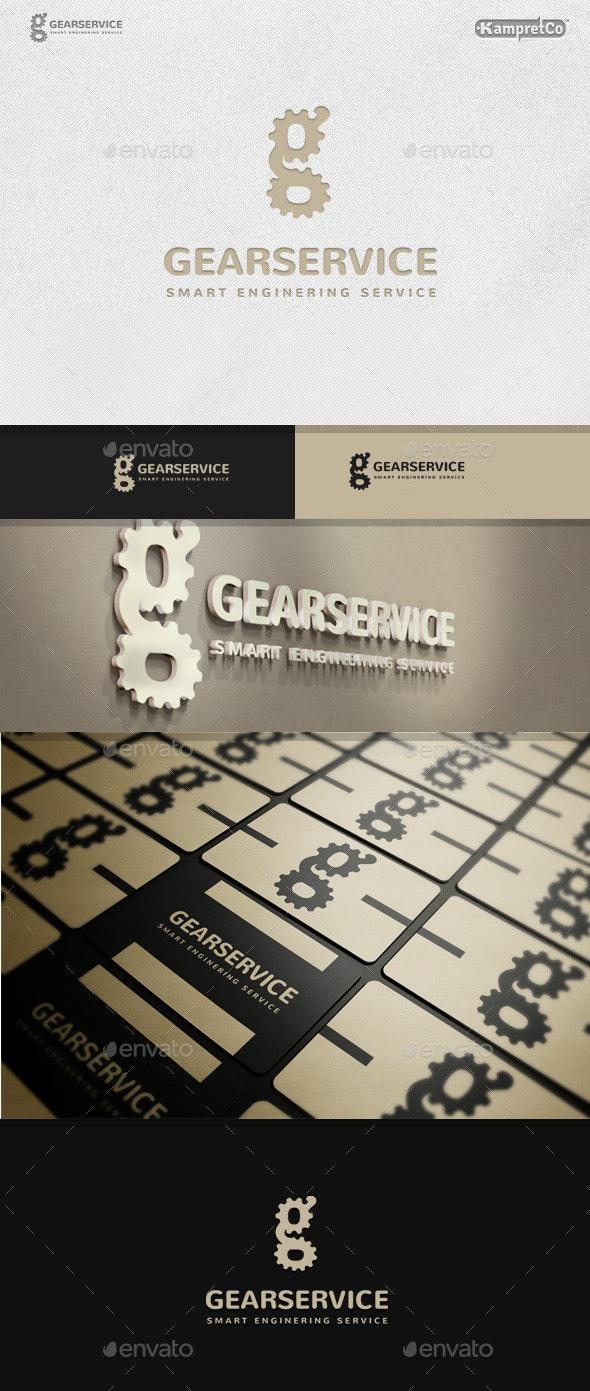 Gear Service Logo - Letters Logo Templates