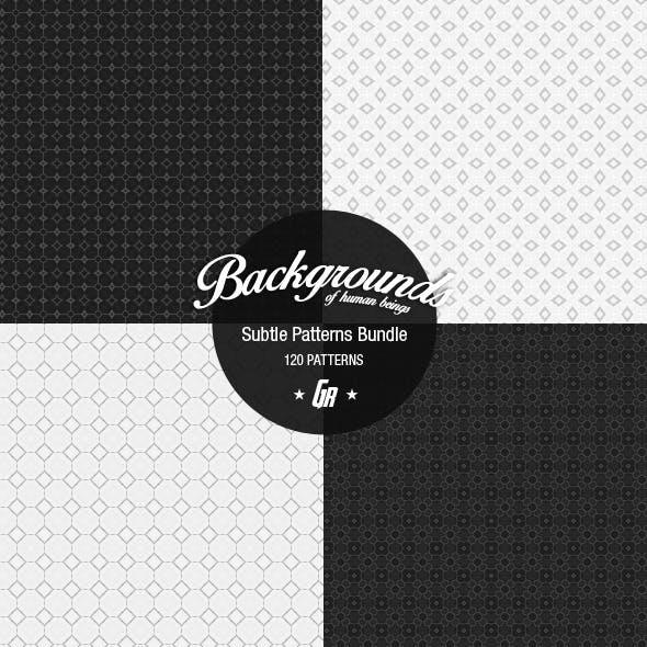 120 Subtle Background Patterns - Bundle